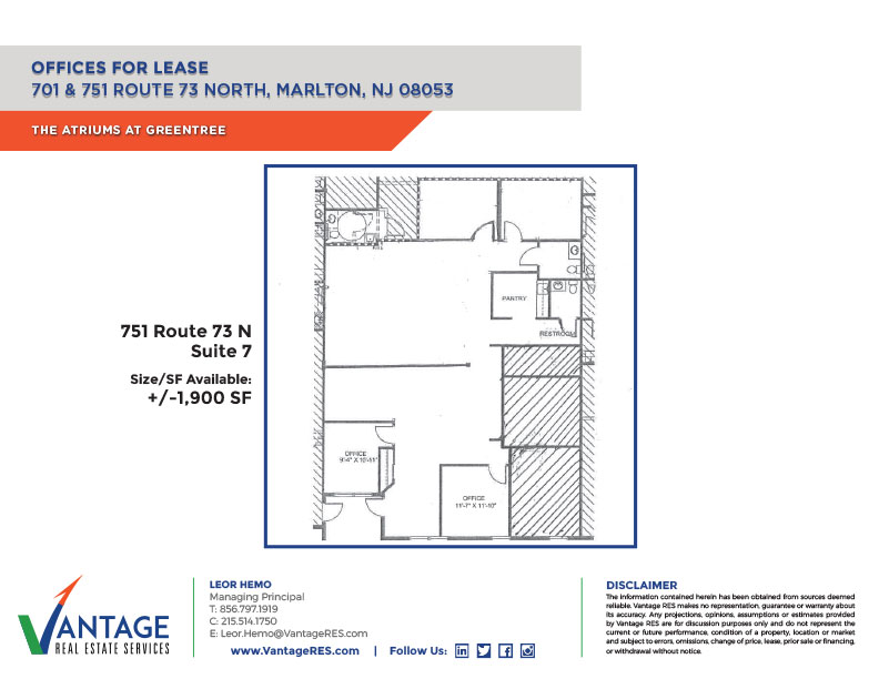 Atriums Suite 7 Floor Plan