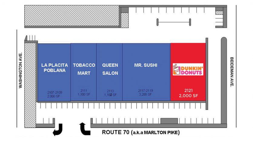 Tracktown Mall Floorplan