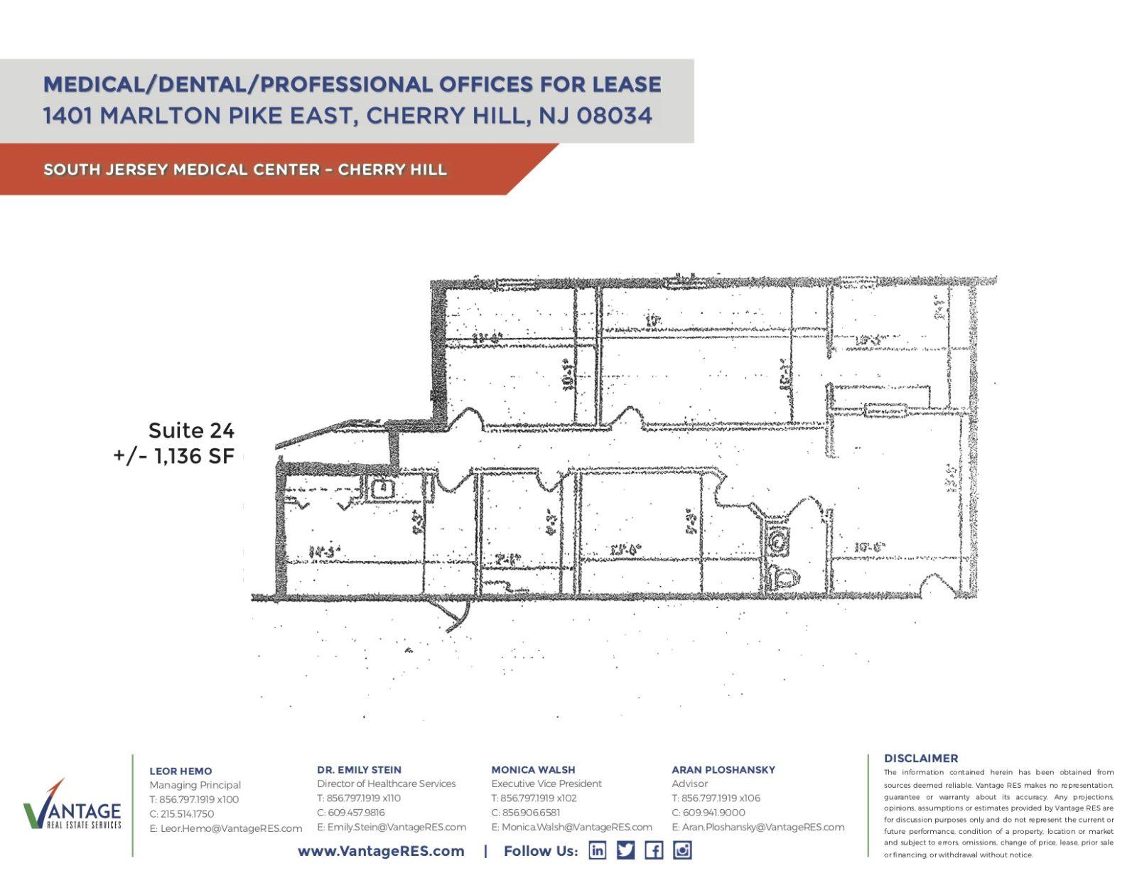 Suite 24 Floorplan