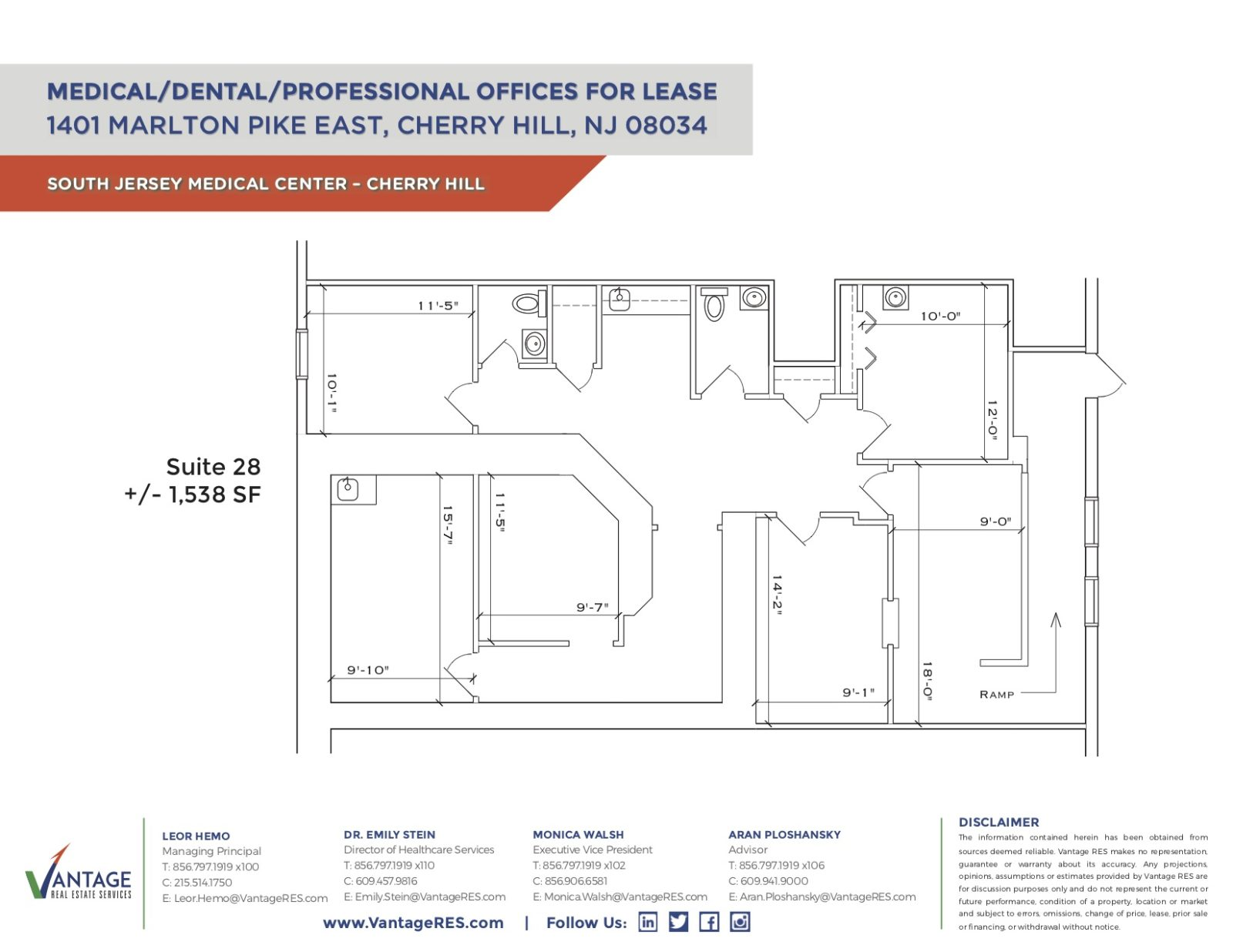 Suite 28 Floorplan