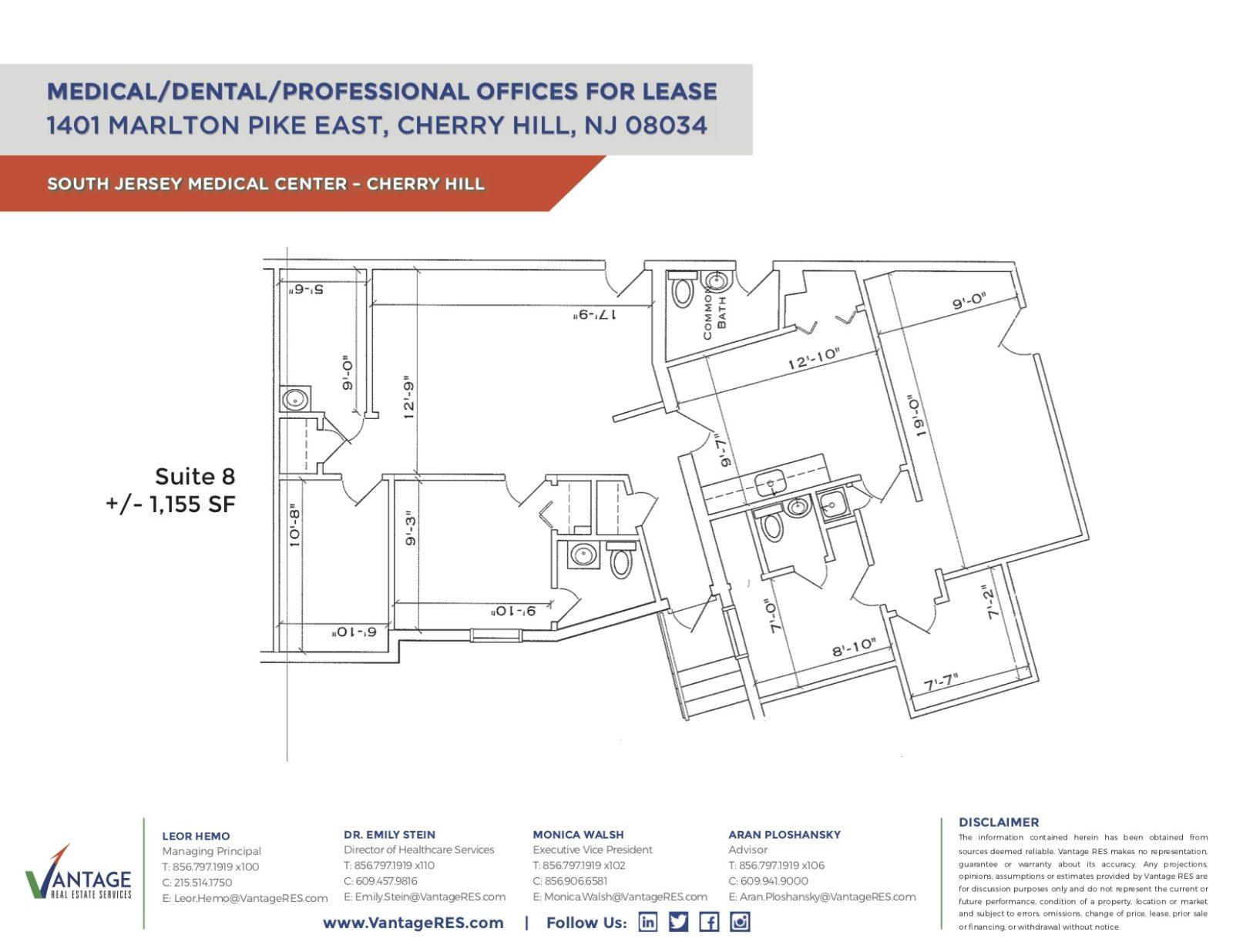 Suite 8 Floorplan