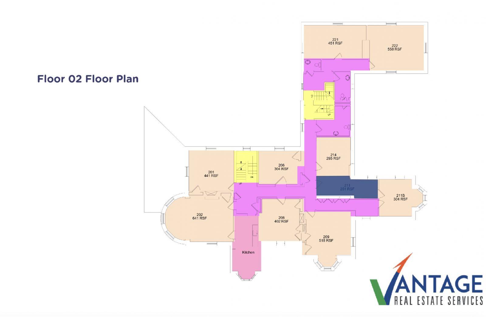 Ashurst Mansion Floor Plan 2