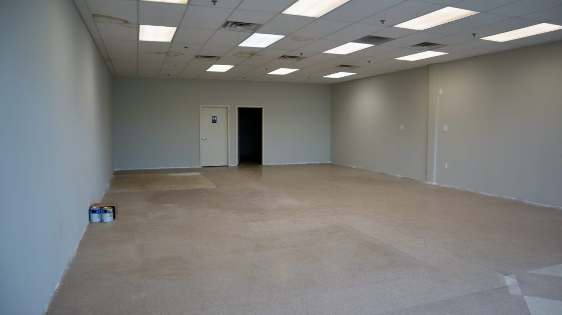 Vantage Commercial Empty Space 300 Campbell Drive 1