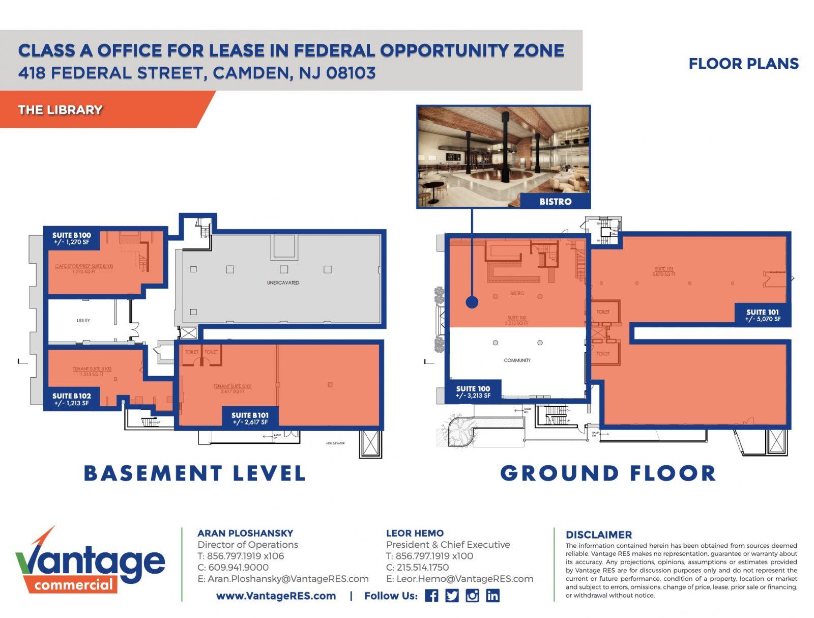 Basement Level & Ground Floor